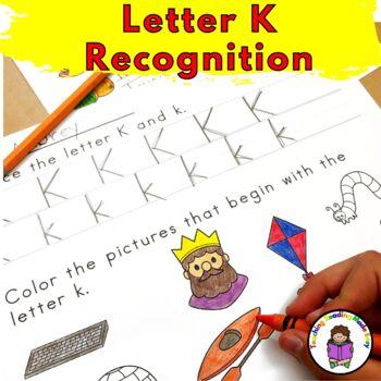 Letter K - Letter of the Week: 15 Beginning Letter Sound Activities