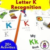 Letter K Worksheets-15 Beginning Sound Letter of the Week K Alphabet Activities