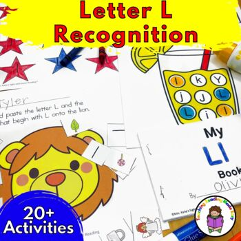 Letter of the Week:  Letter L -Beginning Letter Sound Worksheets & Activities
