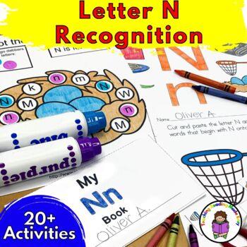 Beginning Letter Sound Worksheets & Activities: Letter N