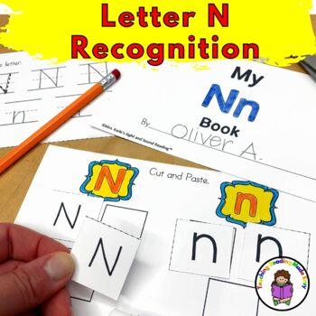 Letter of the Week:  Letter N -Beginning Letter Sound Worksheets & Activities