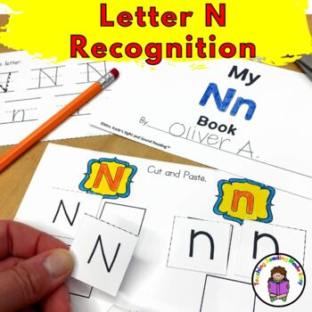 Letter N Worksheets & Activities-15 Letter of the Week N Worksheets