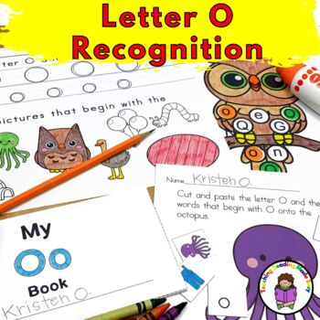Letter of the Week:  Letter O -Beginning Letter Sound Worksheets & Activities