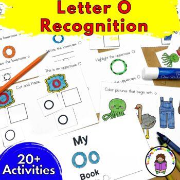 Letter of the Week:  Letter O -Beginning Letter Sound Work