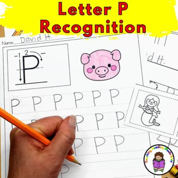 Letter P Worksheets & Activities-15 Letter of the Week P Worksheets