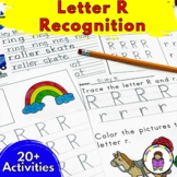 Letter R Worksheets-15 Beginning Sound Letter of the Week R Alphabet Activities