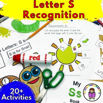 Letter S Worksheets-15 Beginning Sound Letter of the Week S Alphabet Activities