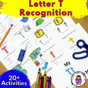 Beginning Letter Sound Worksheets & Activities: Letter T