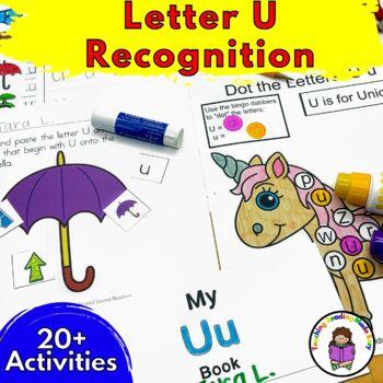 Letter U Worksheets & Activities-15 Letter of the Week U Worksheets