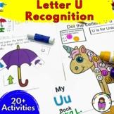 Letter U Worksheets-15 Beginning Sound Letter of the Week U Alphabet Activities