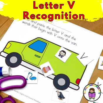 Letter of the Week:  Letter V -Beginning Letter Sound Worksheets & Activities