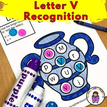 Letter V Worksheets & Activities-15 Letter of the Week V Worksheets