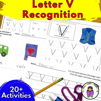 Letter of the Week:  Letter V -Beginning Letter Sound Work