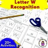 18 Letter W Worksheets for Letter Sound Recognition