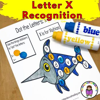 Letter of the Week:  Letter X -Beginning Letter Sound Worksheets & Activities