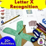 Letter X Worksheets-15 Beginning Sound Letter of the Week X Alphabet Activities