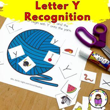 Letter Y Worksheets & Activities-15 Letter of the Week Y Worksheets