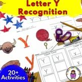 18 Letter Y Worksheets for Letter Sound Recognition - Beginning Sound Fun!