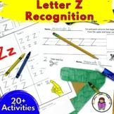 Letter Z Worksheets-15 Beginning Sound Letter of the Week Z Alphabet Activities