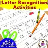 Kindergarten Letter of the Week A-Z BUNDLE -18 Alphabet Activities per letter!