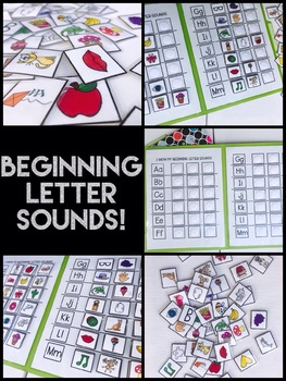 Beginning Letter Sounds