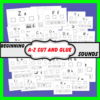 Beginning Letter Sounds (A - Z)  worksheets