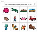 Beginning Letter Sounds Activities: VALUE PACK: Alphabet P