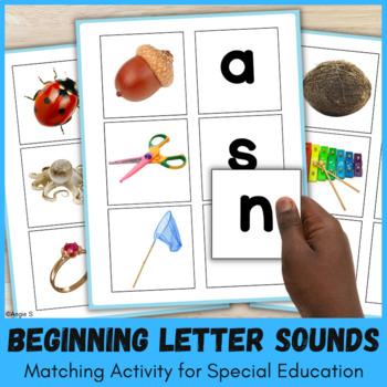 Beginning Letter Sounds Activity