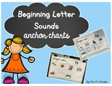 Beginning Letter Sounds Anchor Charts
