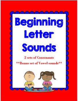 Beginning Letter Sounds Center