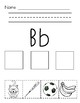 Beginning Letter Sounds (Cut and Paste)