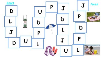 Beginning Letter Sounds Game