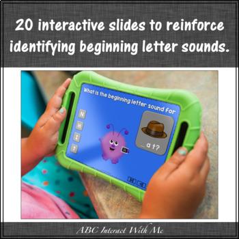 Beginning Letter Sounds {Interactive Alphabet Game}