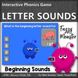 Beginning Letter Sounds {Interactive Alphabet Game}