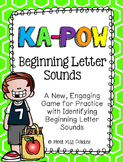Beginning Letter Sounds Kapow - Game / Center Common Core