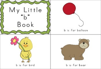 Beginning Letter Sounds - Mini Books - Colour