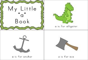 Beginning Letter Sounds - Mini Books - Colour