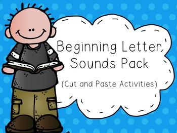 Beginning Letter Sounds Phonics Activity