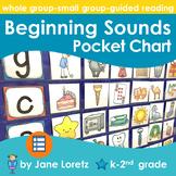 Beginning Letter Sounds Pocket Chart
