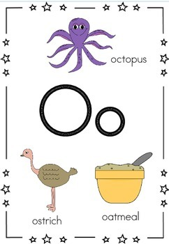Beginning Letter Sounds Posters/Flash Cards