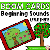 Beginning Letter Sounds Recognition Apples Boom Cards