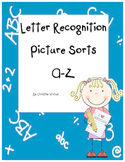 Beginning Letter Sounds & Recognition: Cut & Paste Sorting Activites