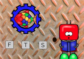 Beginning Letter Sounds Robot Theme Boom Cards