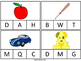 Initial Letter Identification- Task Cards