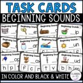 Beginning Letter Sounds Task Cards | Printable and Digital