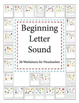 Beginning Letter Sounds - Workbook