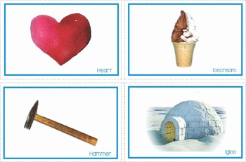 Beginning Letter and Sound Picture Cards