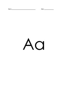 Beginning Letters A-H