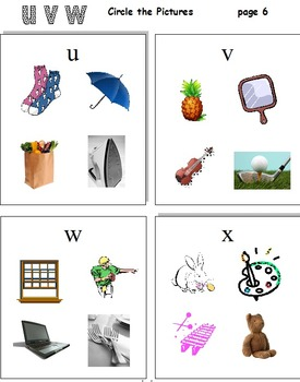 Beginning Letters A - Z