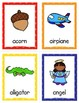 Things that Start with A-Z Cards